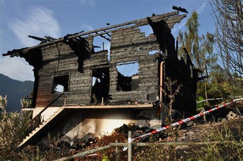 cergnat un chalet d habitation compl 232 tement d 233 truit par le feu journal le cotterg