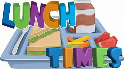 Lunch Schedule Elementary Times Clipart Tray Pre