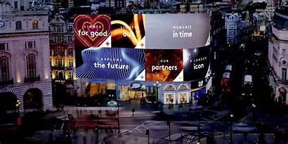 Billboard London Piccadilly Giant Circus Drive Trend