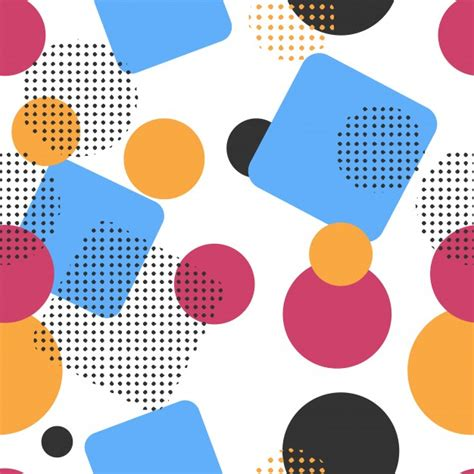 Shapes Background Abstract Shapes Background Vector Free