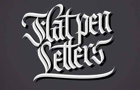 beautiful examples  blackletter  gothic calligraphy
