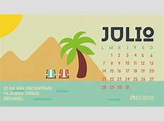 Calendario descargable Julio • Silo Creativo