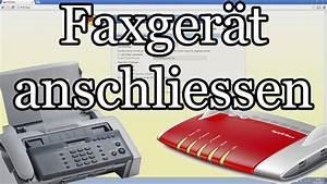Regal Für Telefon Und Router : faxger t an fritzbox anschliessen und rufnummer zuweisen youtube ~ Buech-reservation.com Haus und Dekorationen