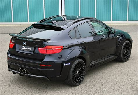 The top variant bmw x6 on road price is ₹ 1.1 crore*. 2012 BMW X6 M G-Power Typhoon WideBody - price and specifications