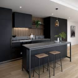 modern kitchen remodeling ideas best 25 black kitchens ideas on kitchens