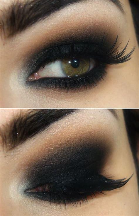 easy black smokey eye tutorial  party night