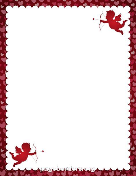 cupid border clip art page border  vector graphics