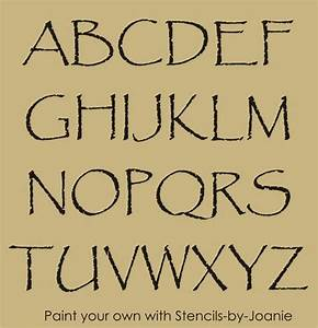 21 best primitive stencils images on pinterest With country letter stencils