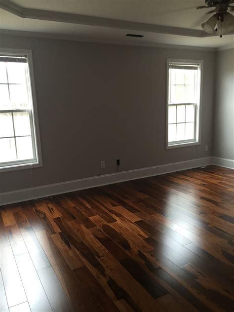 Dark Hardwood Floors. Brazilian walnut, Chocolate stain