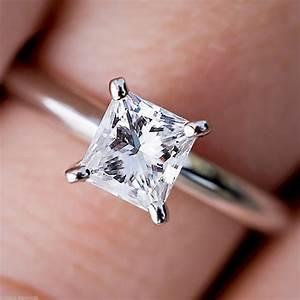 Princess Cut Diamond Rings Auction | Wedding, Promise ...