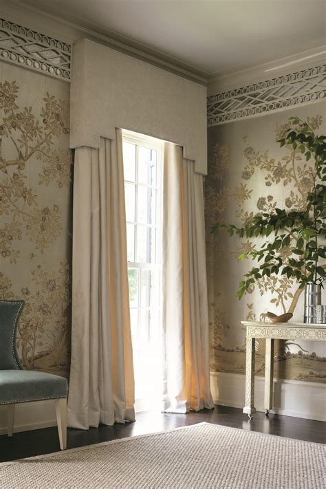 window drapes calico window treatment scale and proportion