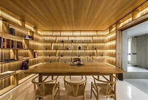 Les Meubles De Maison : maison avec un design interieur asiatique et contemporain ~ Teatrodelosmanantiales.com Idées de Décoration