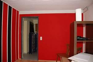 Wand Schwarz Streichen : rote wand wei streichen trendy wohnzimmer grn streichen grntne wandfarbe super vorschlge with ~ Eleganceandgraceweddings.com Haus und Dekorationen