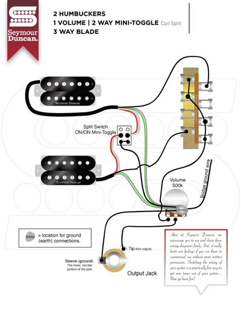 wiring diagrams seymour duncan part 29