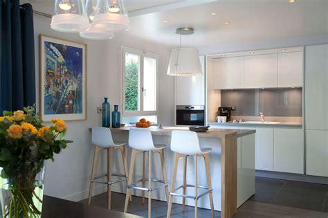 amenager cuisine ouverte sur salon cuisine ouverte sur salon comment aménager une cuisine