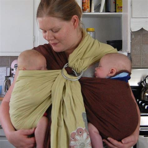 Babies Preparation For Twin Quick And Easy Baby Carrier