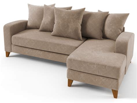 canape tissu taupe canapé d 39 angle tissu quot aztec quot 3 4 places taupe angle