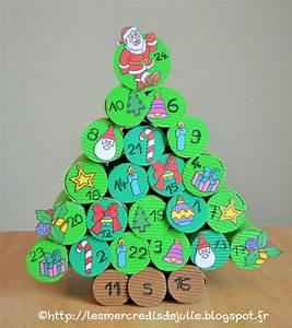 Calendrier Avent Rouleau Papier Toilette : calendrier de l 39 avent avec des rouleaux de papier toilette projets essayer christmas tree ~ Farleysfitness.com Idées de Décoration