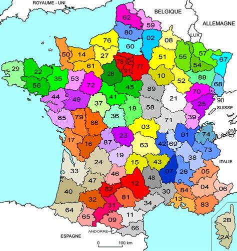 Carte De Avec Les Nouveaux Départements by Pz C Carte De