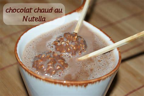 cuisine tajine chocolat chaud au nutella chocolat amour de cuisine