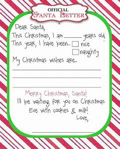 top 15 best blank letters to santa free printable With best santa letters