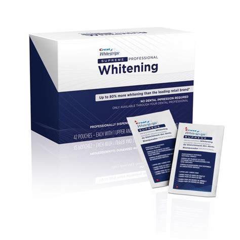 crest supreme crest whitestrips supreme teeth whitening not sold in