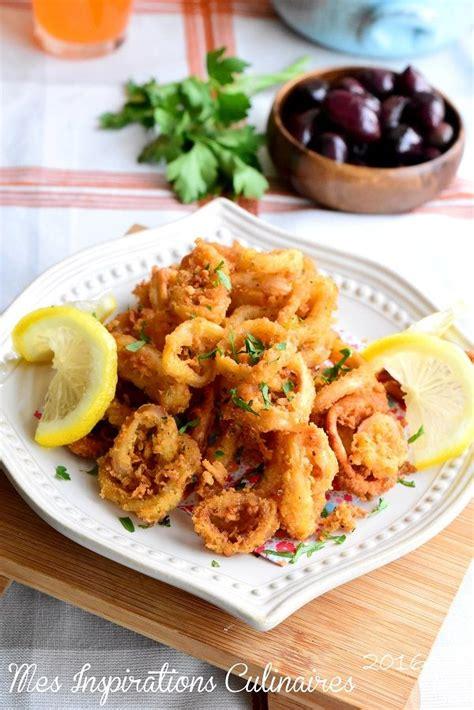 calamar cuisine food inspiration calamars frits recette tapas facile le cuisine de samar