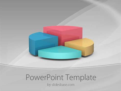 pie chart powerpoint template slidesbase