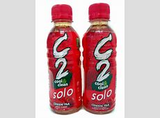 C2 Green Tea Apple SOLO 230ml Cliggro