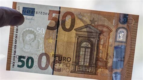 euro schein das sind die neuen sicherheitsmerkmale