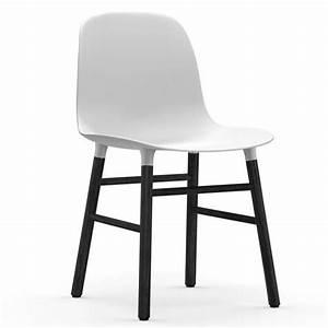 Sitzhöhe Stuhl Norm : normann copenhagen form black white living and co ~ One.caynefoto.club Haus und Dekorationen