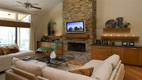 Living Room Remodels : Rustic Living Room, Fireplace Remodel Rustic Living Room