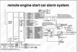 Car Alarm Wiring Diagram Toyota In 2020