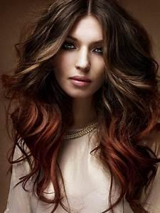 Auburn Brown Hair Color Ideas