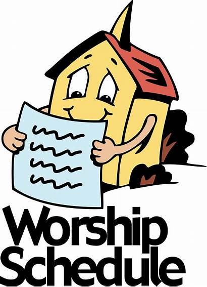 Sunday Clip Clipart Worship Schedule Powerpoint Projects