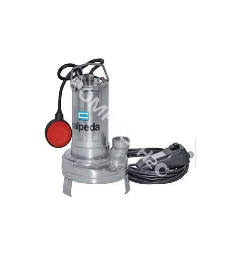 pompe de relevage cuisine pompe submersible de relevage tout inox pour eaux chargées