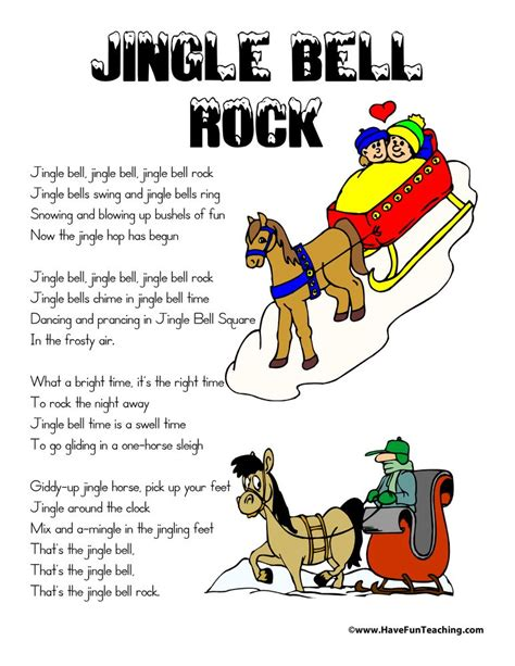 Jingle Bells Swing And Jingle Bells Ring by Jingle Bell Rock Lyrics Ideas