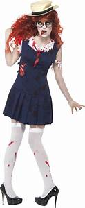 Halloween Kostüm Auf Rechnung : zombie studentin kost m f r frauen ~ Themetempest.com Abrechnung