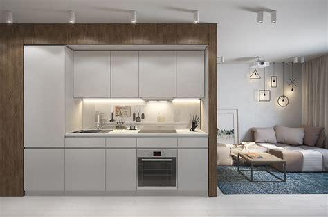 cuisine minimaliste dans petit appartement