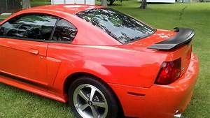 04 Ford Mustang Mach 1 Competition Orange For Sale - YouTube