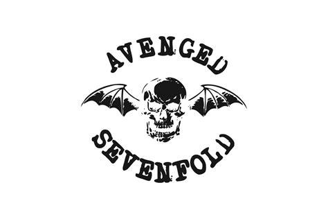 kaos avenged sevenfold logo 04 avenged sevenfold logo logo