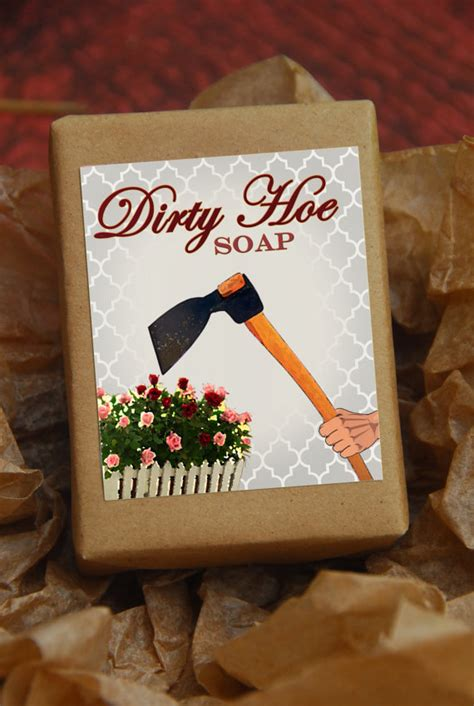dirty hoe soap gag gift gifts under 10 handmade by
