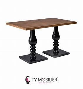 Table 4 Personnes : table de restaurant 4 personnes echec et mat city mobilier ~ Melissatoandfro.com Idées de Décoration