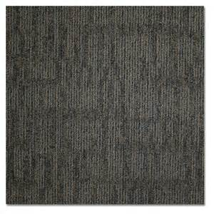 shop kraus 20 pack 19 625 in x 19 625 in essentially black textured glue carpet tile at