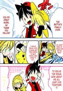 Red x Yellow Pokemon