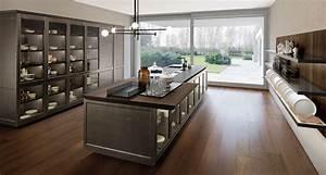 cucina contemporanea fil di roberto gobbo finitura metallica With falconcini cucine di roberto falconcini