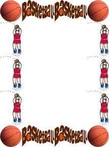 Free Basketball Clip Art Borders