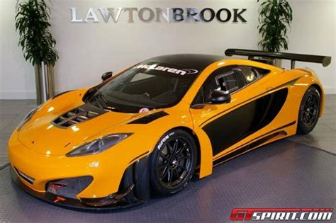 Mclaren Mp4-12c Gt3 Racer For Sale At £299,000