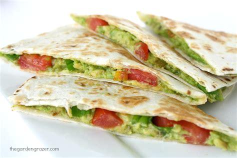 Garden Quesadilla by Avocado Quesadillas Recipe Dishmaps