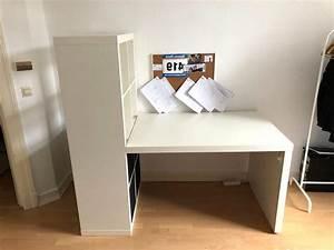 Ikea Schreibtisch Mit Regal : ikea regal expedit schreibtisch gebraucht kaufen 4 st bis 60 g nstiger ~ A.2002-acura-tl-radio.info Haus und Dekorationen